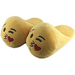 Pantuflas chanclas zapatillas Emoji, BACIO, 1.7 Litres