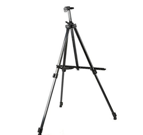 SYGA Adjustable Aluminium Artist Display Easel Stand with Black Carry Case