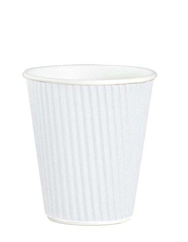 sortie-thali-lot-de-50-feuilles-de-papier-kraft-blanc-8-oz-isole-en-papier-3-plis-jetables-tasses-a-