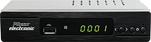 Microelectronic m310plus HDTV Sat Receiver ( 1080p, HDTV, DVB-S2, HDMI, SCART, USB 2.0, Ethernet, RSS-Feeds, Wetter App, IR Sensor)