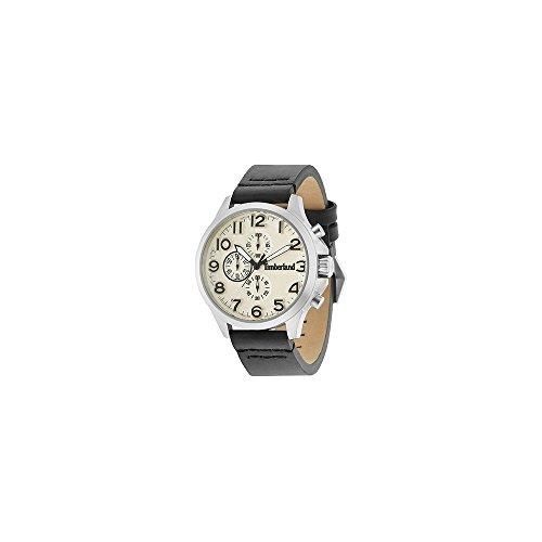 Timberland Reloj Cronógrafo para Hombre de Cuarzo con Correa en Cuero 15026JS/07