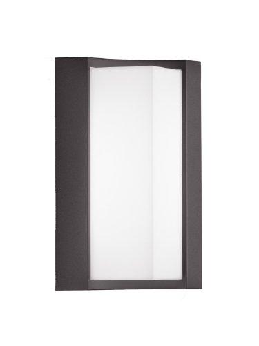 Trio Leuchten LED Außen-Wandleuchte, Aluminiumguss, inklusiv 6 W, Höhe 22 cm, anthrazit 220360142