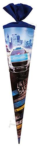Nestler Schultüte Polizei Sound Zuckertüte Schulanfang Einschulung Schule: Größe: 70 cm