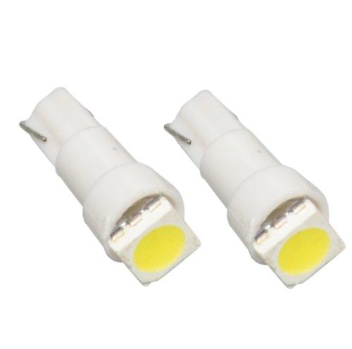 T5SW - SMD LED Ampoule Lampe voiture auto blanc T5 W2,3W T5 12V tachymètre instrument d'éclairage