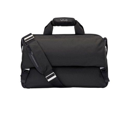 Sony Vaio VGPEMBMD Mandarina Duck Notebooktasche bis 46,7 cm (18.4 Zoll) schwarz