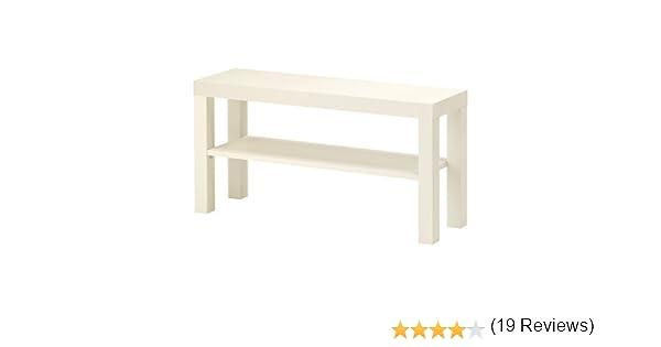IKEA MANQUE Banc TV blanc 90x26 cm