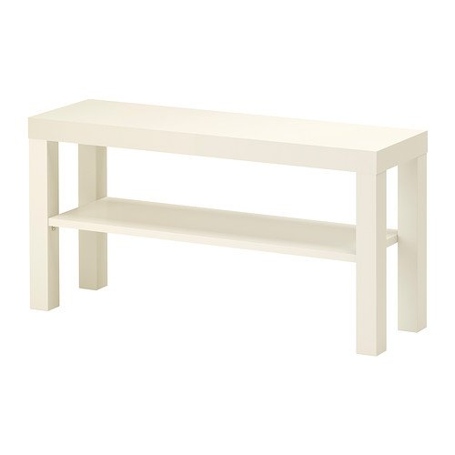 IKEA LACK - TV bench, white - 90x26 cm by Ikea