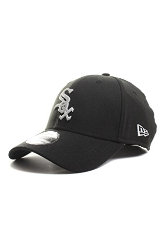 new-era-mens-caps-hats-39thirty-league-basic-chicago-white-sox-black-black-white-sizel-xl