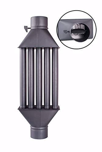 Intercambiador de calor de chimenea Diplomat intercambiador de aire caliente, enfriador de...