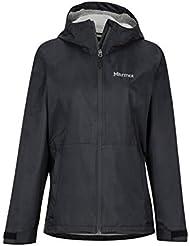 Marmot Wm's Precip Eco Plus Jacket Imperméable, Veste de Pluie Femme, Hardshell, Coupe Vent, Respirant