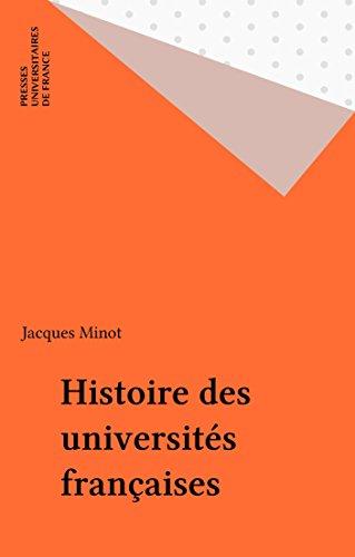 Histoire des universités françaises