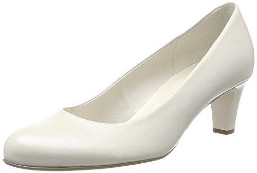 Gabor Shoes Damen Basic Pumps, Weiß (Off-White+Absatz), 39 EU