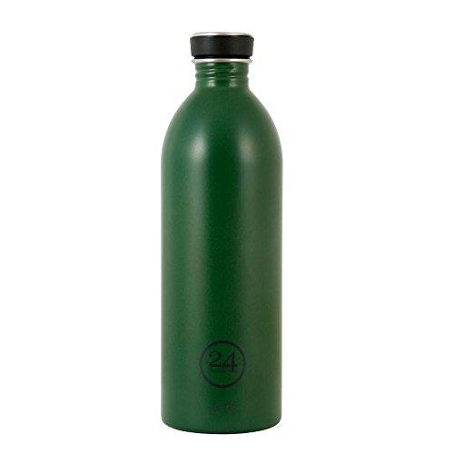Produktbild 24Bottles Urban Bottles Edelstahl Trinkflaschen Jungle green dunkelgrün 1 Liter