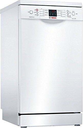 Bosch sps46mw01e Lave-vaisselle autonome/A +/237 kWh/an/2660 L/AN/Aqua Capteur/Active Water Système hydraulique/Blanc