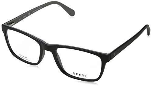 Guess Unisex-Erwachsene GU1908 004 55 Brillengestelle, Schwarz (Nero), - Guess Frames Brille