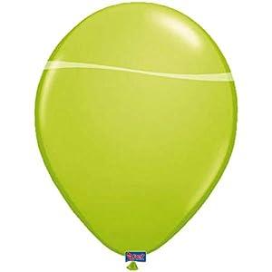 Folat 08180 - Globos de manzana (30 cm, 100 unidades), color verde