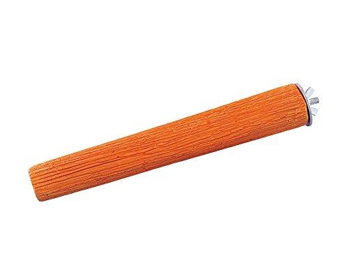 Nobby Mineral Stones Sitzstange, 22 cm, orange, 1er Pack (1 x 310 g)