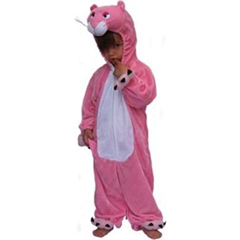 Disfraz infantil, diseño de la pantera rosa, talla: 8 años