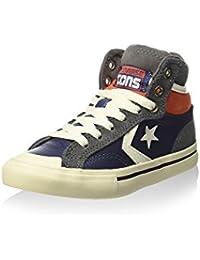 Converse Zapatillas abotinadas Pro Blaze Hi Leather/Suede Azul Oscuro / Gris EU 27