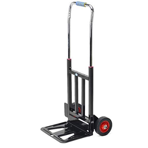 JFFFFWI Carrello Portatile Pieghevole Pieghevole Carrello Trolley Pieghevole per Auto (Dimensioni: 96 * 26 * 33cm)