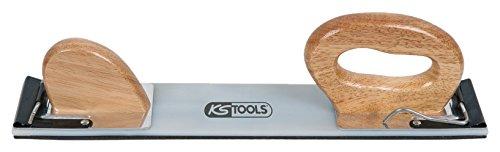KS Tools 140.3019 Flexibler Schleifpapierhalter mit Gummiauflage