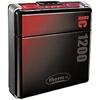 therm-ic Warme Füße Smartpack 1200 EU und US, black/red/silver, T01-0110-010