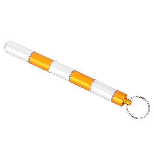 VGEBY1 Pillenbox Schlüsselanhänger, Aluminium Wasserdichte Tablettenbox Pillendose Medikamentenbox (148mm)