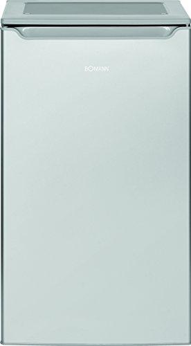 Bomann VS 2262 Kühlschrank / A+ / 85.3 cm / 109 kWh/Jahr / 87 L Kühlteil / justierbare Standfüße/silber