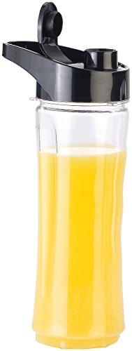 Rosenstein & Söhne Zubehör zu Drink-Mixer: Ersatz-Mix-Trinkflasche für Smoothie-Maker BR-600, BPA-frei, 600 ml (Shaker)