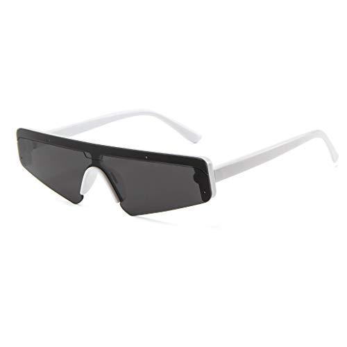 Sonnenbrille Unisex Brillenträger Unregelmäßiges QuadratKleiner Rahmen Sonnenbrille Retro UV-Schutz Sonnenbrille Mode Trendige Sonnenbrille Ideal zum Autofahren Städtetouren