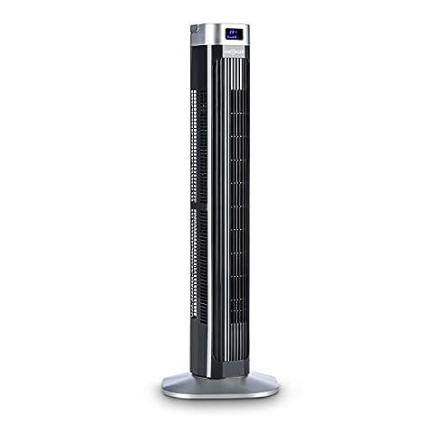 Panneau Affichage Sur Pied - oneConcept Hightower 2G Ventilateur colonne sur pied