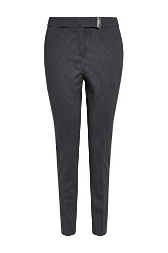 next Damen Skinny-Hose Aus Ponte-Di-Roma Schwarz/Graue Textur EU 40 Regular (UK 12)