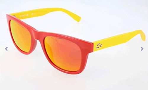 Lacoste Unisex-Erwachsene L790Sog Sonnenbrille, Orange, 52 (Sonnenbrillen Lacoste Mann)