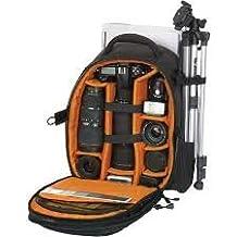 Amazing World Professional Backpack DSLR Camera Notebook Laptop Mobile Tripod Bag (17Inch)