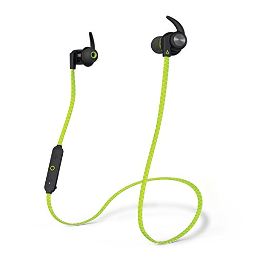 Creative Outlier Sports Auricolari In-Ear, Anti-Traspirazione, Bluetooth, Verde