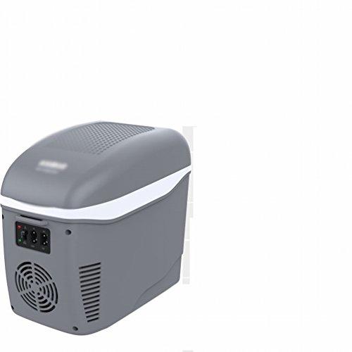 Preisvergleich Produktbild 7,5 Liter Auto Dual-Use Mini Mini-Kühlschrank Kühlung Auto Kühlschrank kleine Wohnküche Studenten Studenten kalt und warm,Grau,7,5L