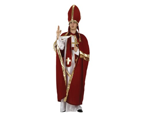 ATOSA 93947Kostüm Papst rot,Größe M-L (Les Kostüm Des Hommes)