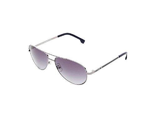 Cerruti Herren Sonnenbrille Weiß Argent