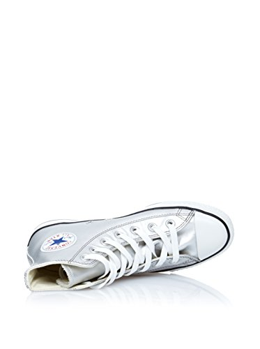 Converse  All Star Sn, Sneakers Basses unisex - adulte Argent - Plateado