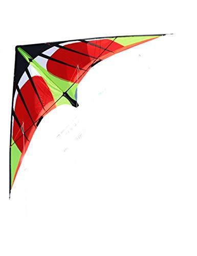 ZSYF Drachen Kite Professioneller 1,8/2,4 M Schneller Power-Lenkdrachen Mit Zwei Leinen Für Anfänger Gutes Fliegen