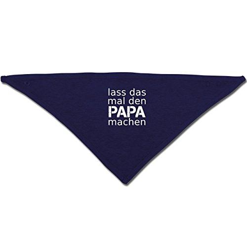 das mal den Papa machen - Unisize - Navy Blau - BZ23 - Baby-Halstuch als Geschenk-Idee für Mädchen und Jungen (Handwerk Ideen Für Jungen)