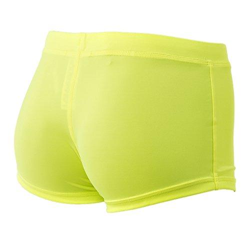 GUESS pantalons de natation hommes Beachwear PERDUS AU SOLEIL COFFRE Badepant - couleur Neongelb