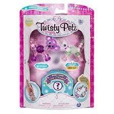 Twisty Petz - Serie 2 - 3er Pack - Queenie Koala und Schneeflocken Einhorn (Bejeweled Kitty)
