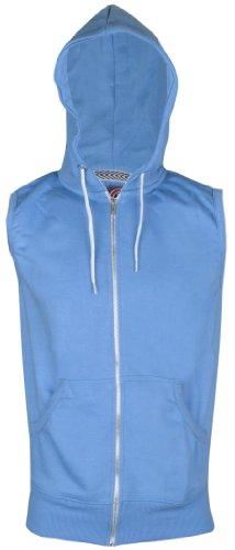 Mens Sleeveless Sweatshirt Hoodies Top