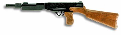 Edison Giocattoli Matic 45 Special: Spielzeuggewehr in Geschenke-Box für Agenten und Polizisten, ideal für Fasching, für 13-Schuss-Munition, 61.5 cm, braun/schwarz (E0365/24)