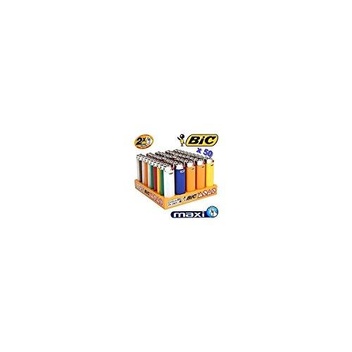 BIC J26–Bi BIC–Set Verkaufsständer für 50Feuerzeuge Maxi BIC J26–50großen Feuerzeuge in Ihrem Verkaufsständer
