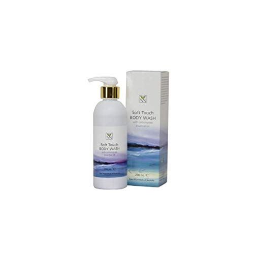 Natural Body Wash, Emu oil, Lemongrass and Natural Oil Blend, Sensitive Skin -