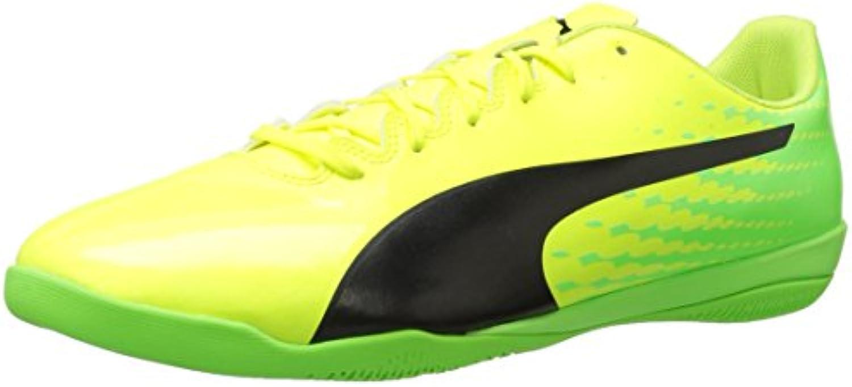 PUMA Hombres Calzado Atlético, Safety Yellow-puma Black-green Gecko, Talla 10.5