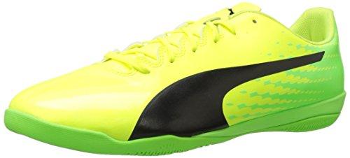 Puma evoSPEED 17.4 IT Synthetik Klampen Yellow-Black-Green