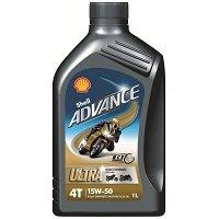 Shell Advance 4T Ultra 15w-50 100% Synthetic Motorcycle Oil 1 Litro Eu/lt 11,50